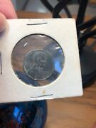 1943 Steel Wheat Penny Old Us Coin From Wwii Free Shipping
