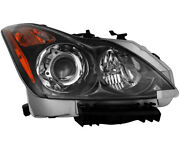 Hid Headlight Assembly W/bulb Left Driver Side For 11-13 Infiniti G37 Coupe