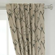Bucketfeet Mountain Animals 50 Wide Curtain Panel By Roostery