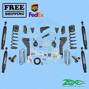 Suspension Lift Kit Zone 8 Front And Rear Fits Dodge Ram 2500 4wd Diesel 2008