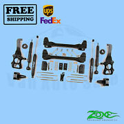 Suspension Lift Kit Zone 6 Front And Rear For Ford F150 2wd 2009-2013