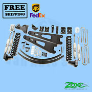 Radius Arm Suspension Lift Kit Zone 6 Front And Rear Fits Ford F350 4wd 2008-10
