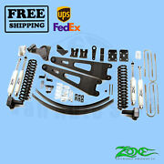 Radius Arm Suspension Lift Kit Zone 6 Front And Rear For Ford F350 4wd 2011-16