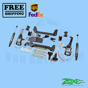 Suspension Lift Kit Zone 6 Front And Rear For Ford F150 4wd 2004-2008