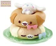 Re-ment Sanrio Cinnamoroll Sweets Collection Mini Figure 6 Coco And Nuts Doughnut