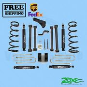 Suspension Lift Kit Zone 5 F And R For Dodge Ram 1500 Mega Cab 4wd Gas 2008