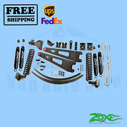 Radius Arm Suspension Lift Kit Zone 6 Front And Rear For Ford F250 4wd 2008-2010