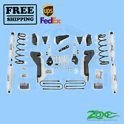 Suspension Lift Kit Zone 6 Front And Rear For Dodge Ram 1500 Mega Cab 4wd 2008