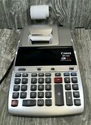 Canon Mp11dx 12 Digit 2 Color Print Clock And Calander Printing Calculator Works