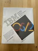 Vintage 1987 Ibm Os/2 Ver. 1.1 New Sealed 3.5andrdquo W/ Sidekick Only 1 Listed Rare