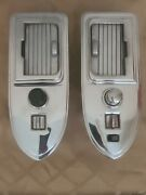 1950-1955 Cadillac Coupe Deville Rear Armrest Rolltop Ash Trays, Lighter, Switch