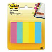 Page Flag Markers Jaipur Collection Assorted Colors 100 Flags/pad 5 Pads/pack |