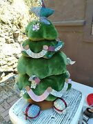 Gund Singing Christmas Toy Tree - Lights Up Plays Oh Christmas Tree And Spins