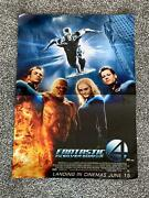 Poster💎fanstic 4 - The Rise Of The Silver Surfer - Reverse Side Puzzles 💎
