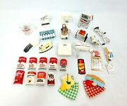 Vtg 27 Piece Acme Dollhouse And Other Fridge Magnet Lot Campbell's Soup 1990s