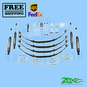Suspension Lift Kit Zone 4 Front And Rear For Jeep Jeep Jeep Yj 1987-1995