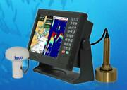 10.4and039and039 Marine Fishfinder/gps And Chart Plotte/echo Sounder For Fishing Boat 1069gf