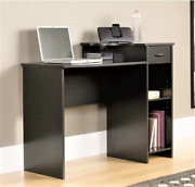 Mainstays Student Desk With Easy-glide Drawer Blackwood Finish