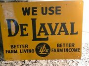 Old Delaval Farm Store Tin Adversting Sign