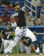 Justin Ruggiano Autographed 8x10 Miami Marlins Free Shipping S572