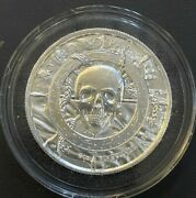 The Siren Privateer 2oz .999 Silver Round No Prey No Pay Mermaid In Air-tite
