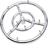 12 Round Fire Pit Burner Ring Jet Ring For Natural Gas Propane Free Shipping