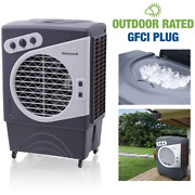 2700 Cfm 3-speed Outdoor Rated Portable Evaporative Cooler Swamp Cooler For 85
