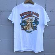 Vtg 80s Just Brass T-shirt Flying Yankee Doodle Military Yankee Dood It 3d L