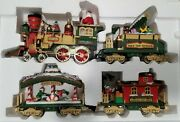 The Holiday Express Animated Train Set, New Bright 1997 - G Scale - Complete