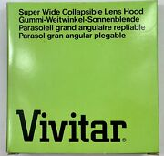 New Vivitar Super Wide Collapsible Lens Hood 67mm Made In Japan New Old Stock