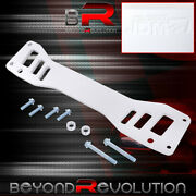 For Rsx Civic Si Ep3 Rear Lower Subframe Reinforcement Brace Bar Silver Hardware