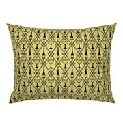 Champagne Drink Art Deco Food Diamond 1920s Pillow Sham By Roostery