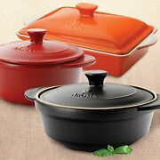 Aroma Housewares Doveware Stew Or Dutch Oven Ceramic Clay Pot Choose Color Size