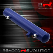 Performance Blue Over Flow Aluminum Radiator Coolant Recovery Catch Can Tank