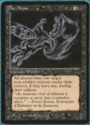 The Abyss Legends Heavily Pld Black Rare Magic Mtg Card Id 246034 Abugames