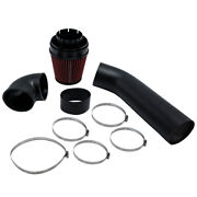 4 Inch Universal Cold Air Intake System And Red Filter For Lsx Ls1 Ls2 5.7l 6.0l
