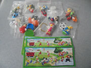 Set Disney Mickey Mouse And Friends From Kinder Surprise 2013 Ferrero Donald Duck