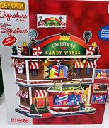 Lemax Christmas Candy Works Lighted Signature Christmas Village Collection 65164
