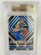 2018-19 Luka Doncic Panini Prizm Silver Emergent Rookie Rc 3 Bgs 10/10 Read
