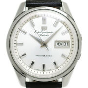 Seiko Sportsmatic Five Deluxe 7619-7030 Automatic Oh Finished 1966