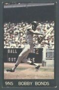 1968 Champion Corn Flakes 9n5 Bobby Bonds Only Known Example Si Promo Card 1/1