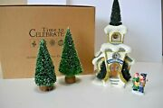 Dept 56 Time To Celebrate Merryville Chapel And Accessories  87100  A0821e