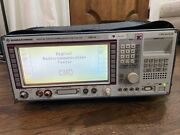 Rohde And Schwarz Digital Radiocommunication Tester Model Cmd59 W/ Case And Cord