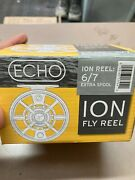 Echo Ion 6/7 Fly Reel Spool Only New In The Box