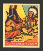 1933 Goudey Indian Gum 188 Pipe Of Peace High Grade Card