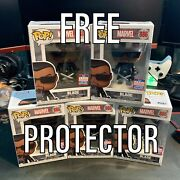 Funko Pop Marvel Blade 886 Funkon Sdcc W/ Sticker With Free Clear Protector