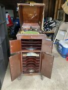 Antique Early 1920's Victrola By Victor Talking Machine Vv Xi