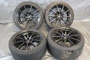 2018 Ford Mustang Shelby Gt 350 Oem Wheel And Tire 19x10.5 +30 19x11 +62offset