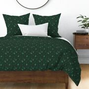 Holiday Cacti Christmas Desert Southwest Cactus Sateen Duvet Cover By Roostery