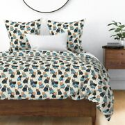 Cat Sweater Kitty Cats Christmas Sateen Duvet Cover By Roostery